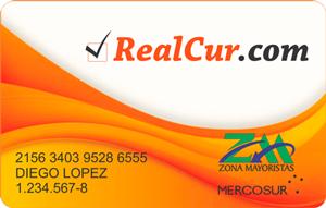 Tarjeta Zona Mayoristas / RealCur